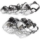 Metal Padded Muzzles with Center Strap